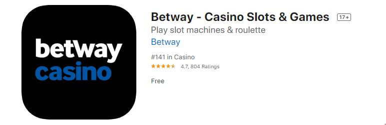 Betway Casino iOS