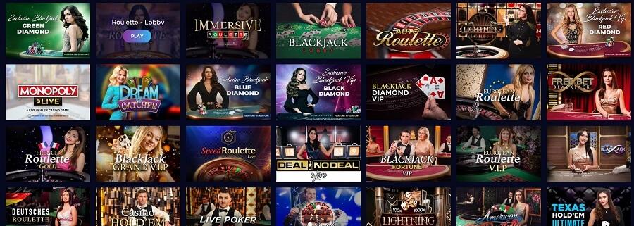 Genesis Casino Live Casino