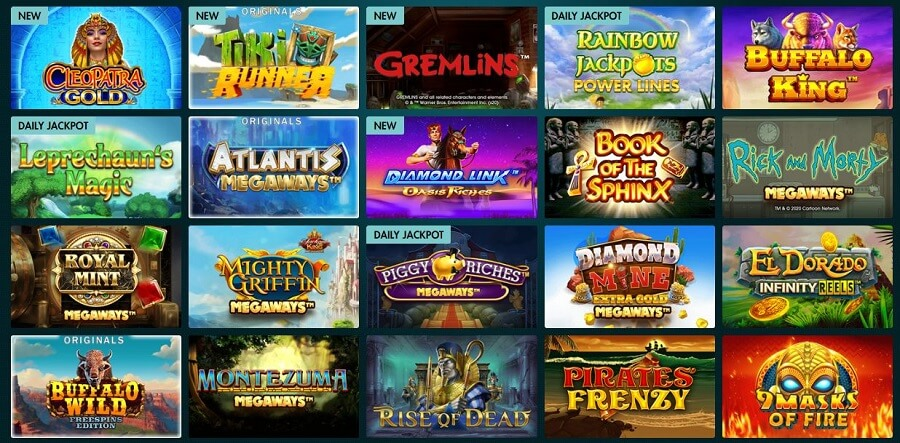 Grosvenor Casinos Slots