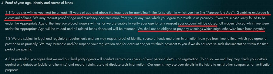 Grosvenor Casinos Verification Requirements