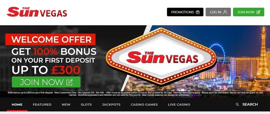 The Sun Vegas Casino