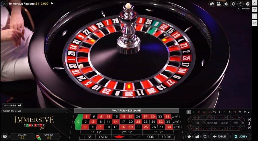 Genesis Casino Live Roulette
