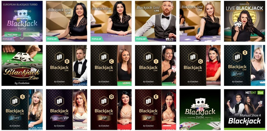 Play Ojo Blackjack
