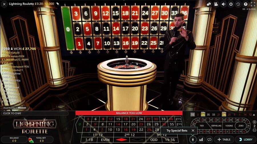 The Grand Ivy Casino Live Casino