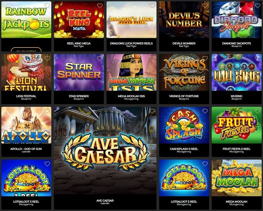 The Grand Ivy Casino Slots