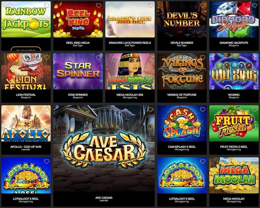 The Grand Ivy Casino Slots