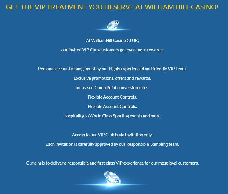 William Hill VIP
