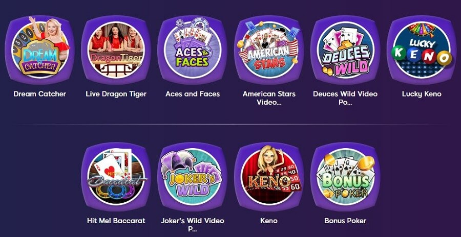 Wink Slots Table Games