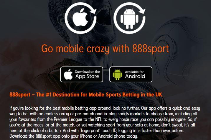 888 Sport Mobile