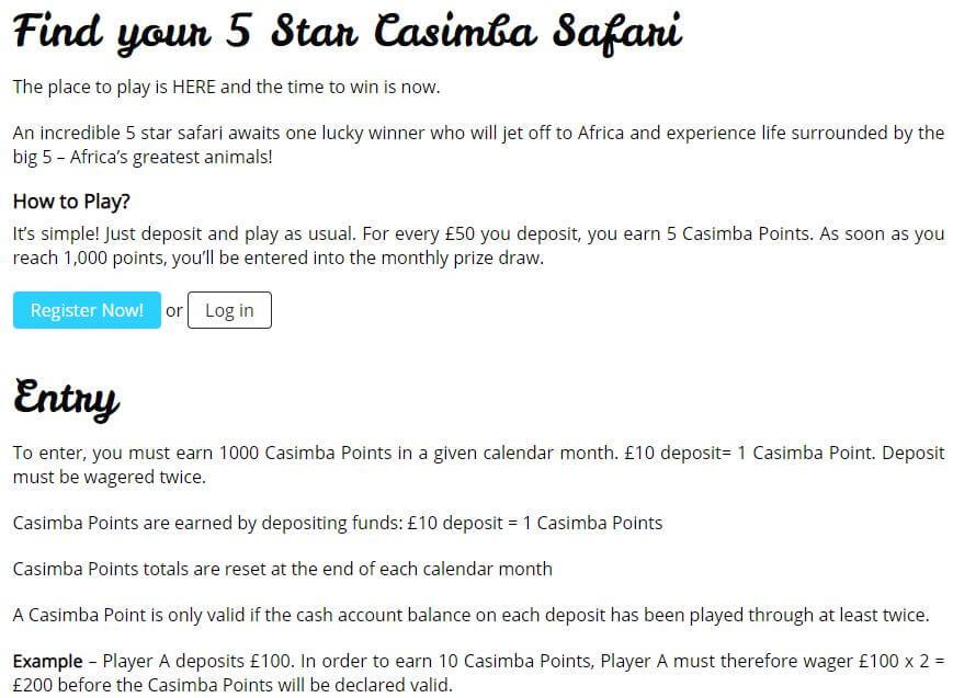 Casimba Promotions