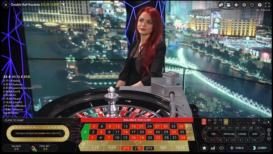 Dream Vegas Live Roulette