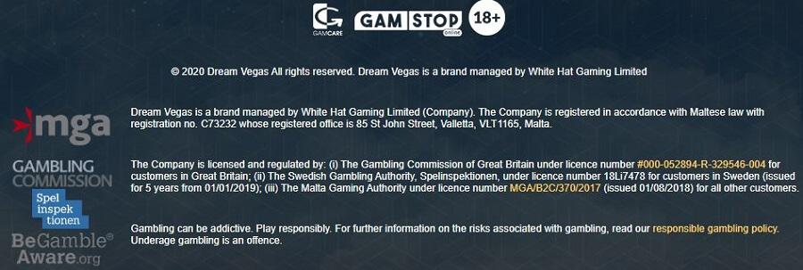 Dream Vegas Security