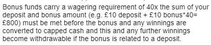Red Spins Wagering Requirements