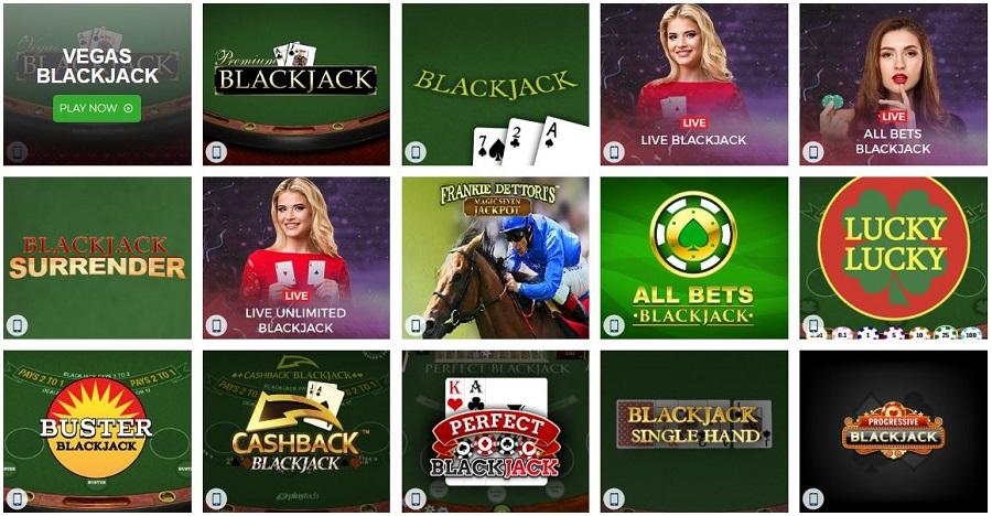 The Sun Vegas Blackjack