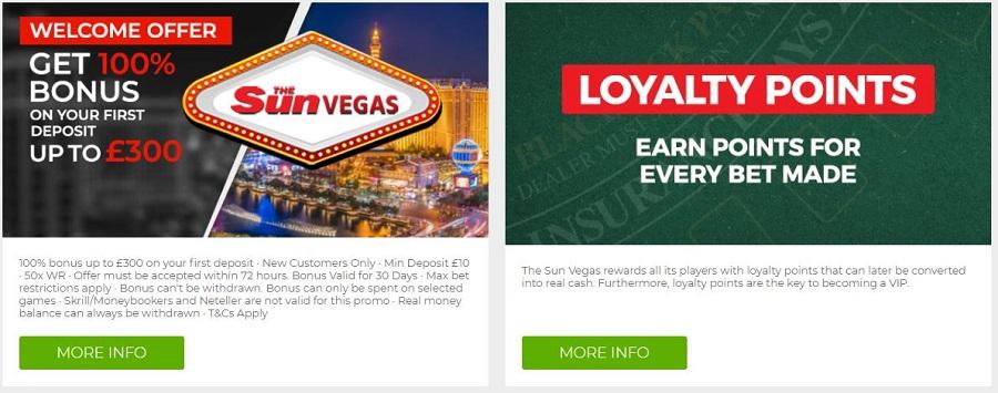 The Sun Vegas Casino Promotions