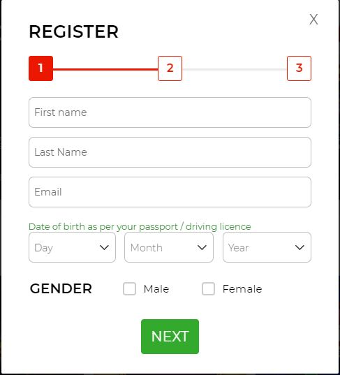 The Sun Vegas Registration 2