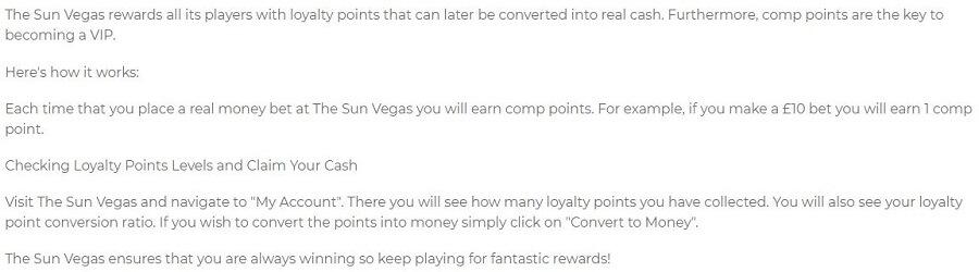 The Sun Vegas VIP 1