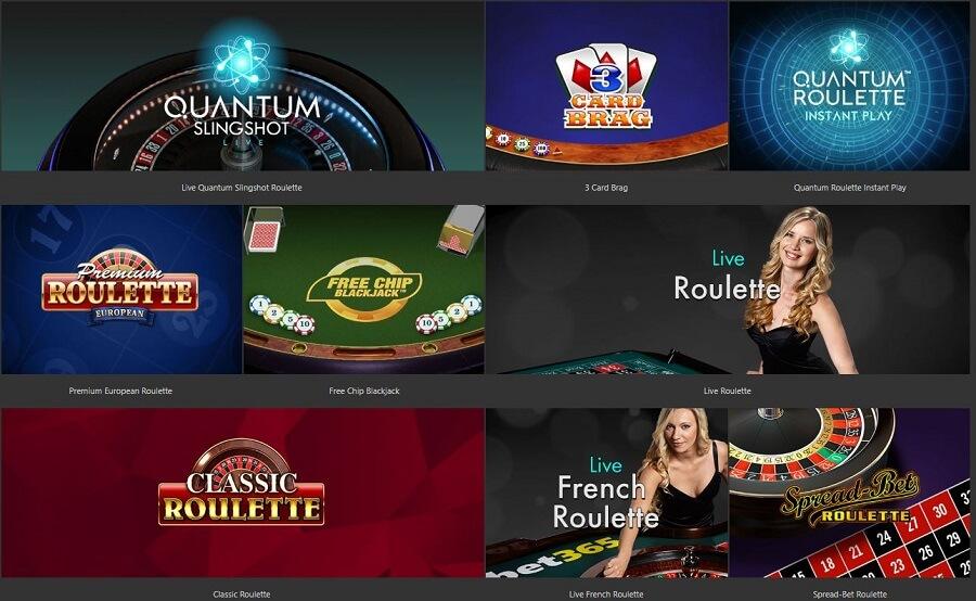 bet365 Online Casino Blackjack & Roulette