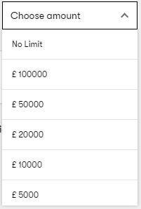 10Bet Deposit Limit