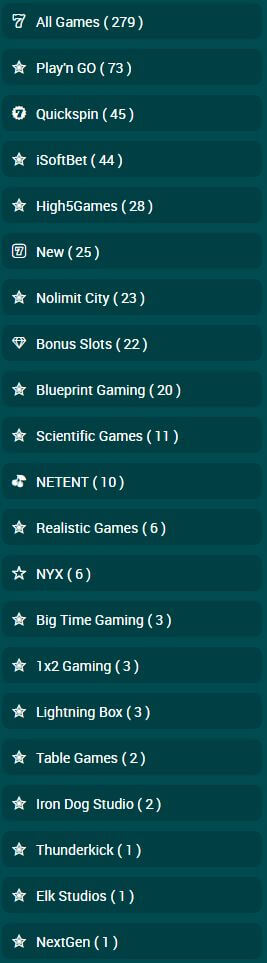 22Bet Game Providers