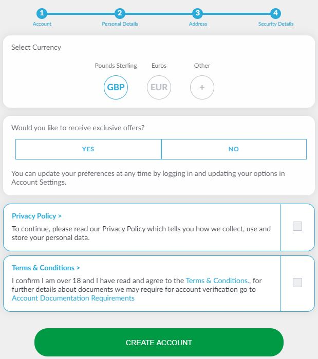 BetVictor Registration 4