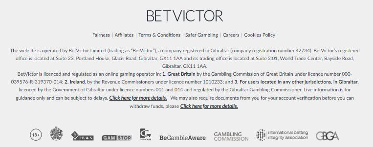 BetVictor Security
