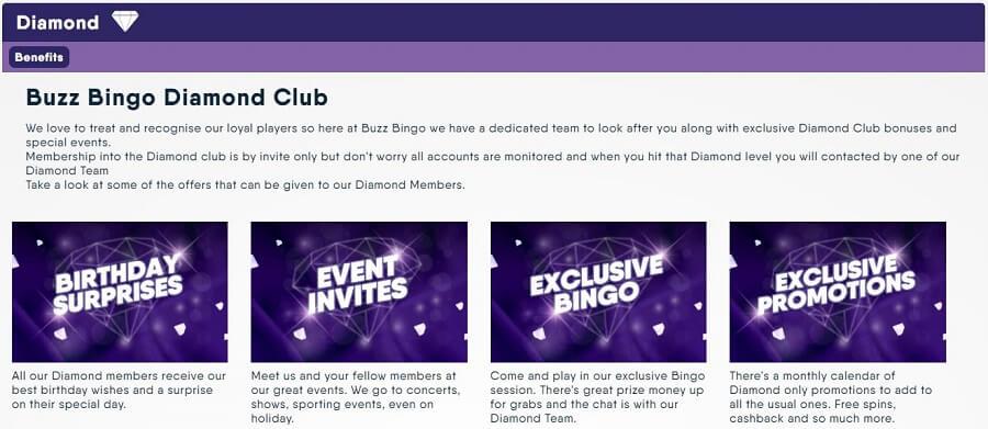 Buzz Bingo Diamond Club