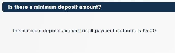Buzz Bingo Minimum Deposit