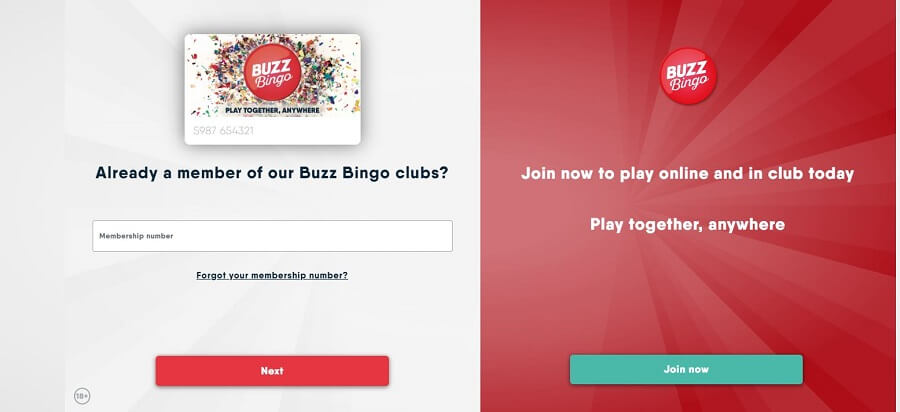 Buzz Bingo Registration 2