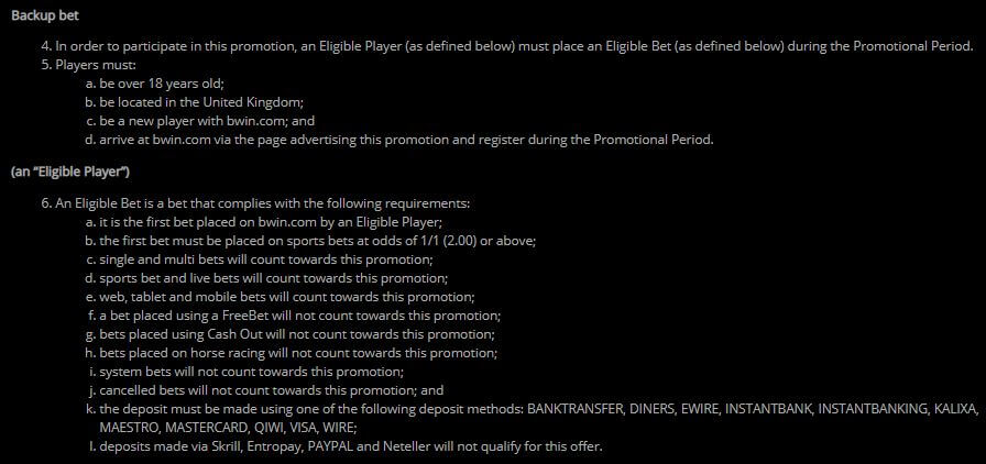 Bwin Welcome Bonus 2