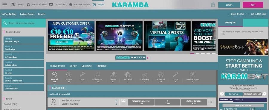 Karamba Registration 1