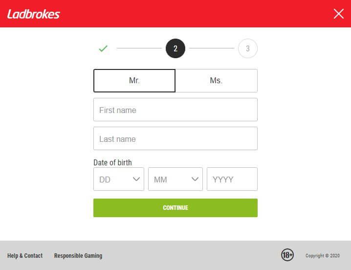 Ladbrokes Registration 2