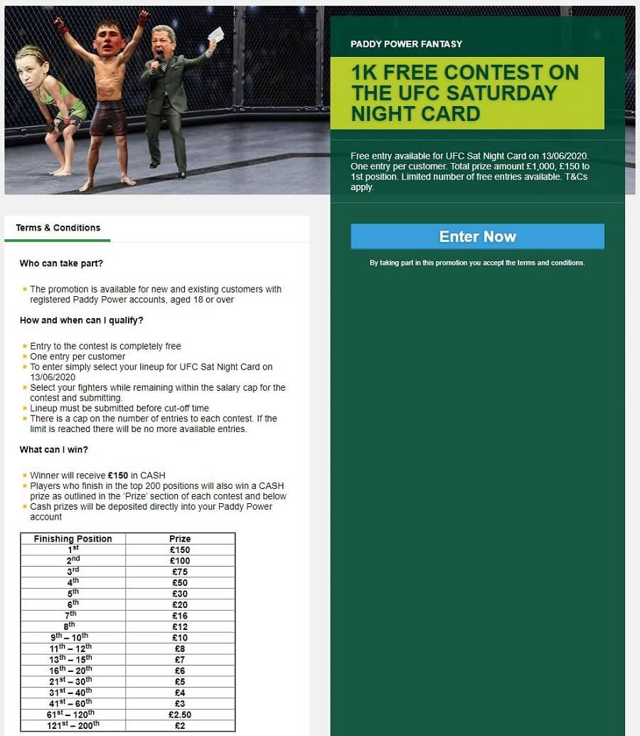 Paddy Power Promotions 3