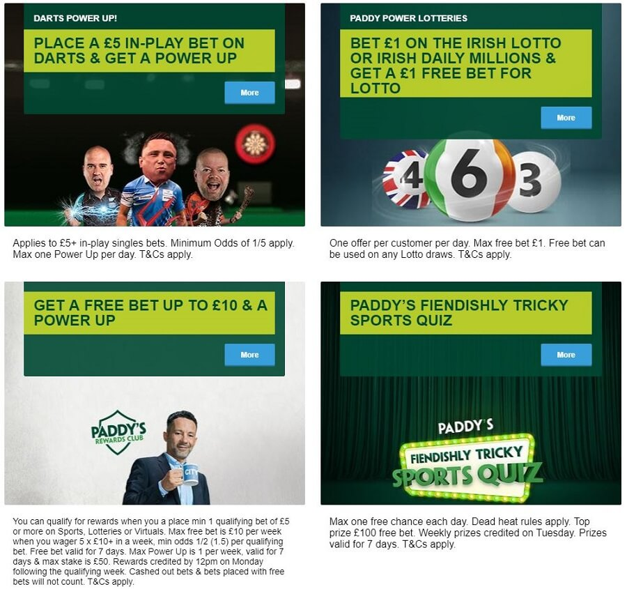 Paddy Power Promotions