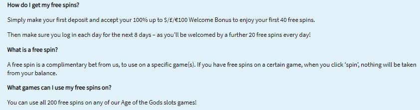 Slots Heaven Welcome Bonus 3