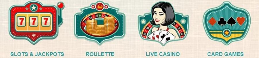777 Casino Game Variety