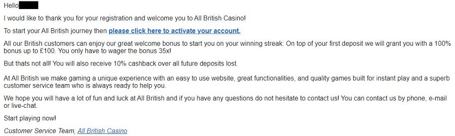All British Casino Register 4