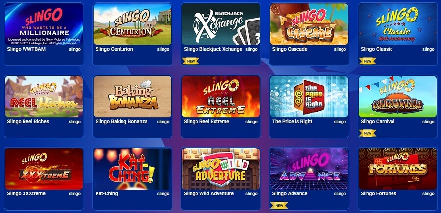All British Casino Slingo