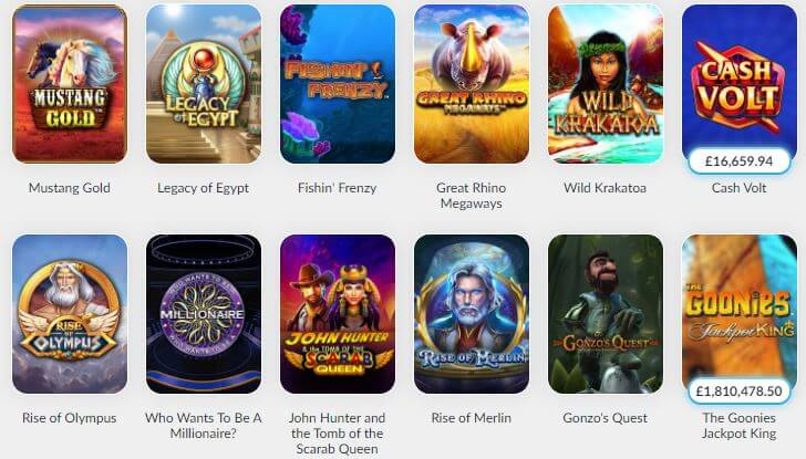 BetVictor Casino Slots