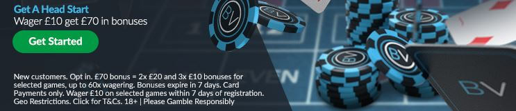 BetVictor Casino Welcome Bonus