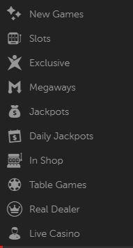 Betsafe Casino Game Variety
