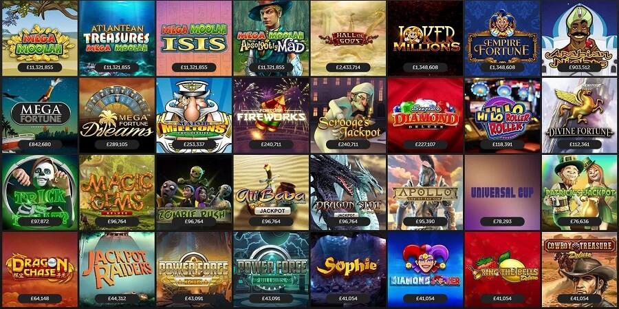 Betsafe Casino Jackpots