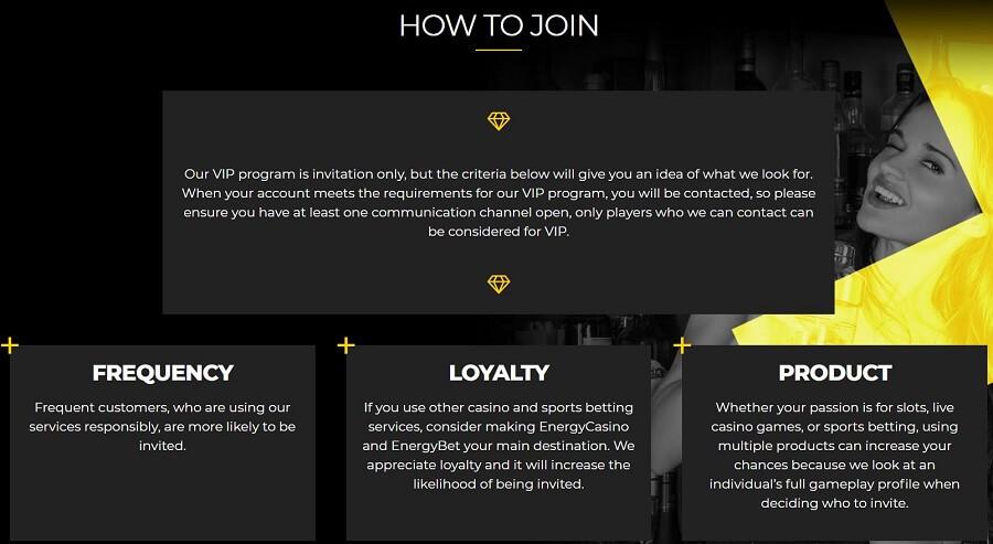 Energy Casino VIP Club 2