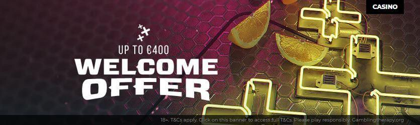 Energy Casino Welcome Bonus