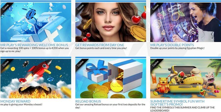 Mr Play Casino PromoMr Play Casino Promotionstions