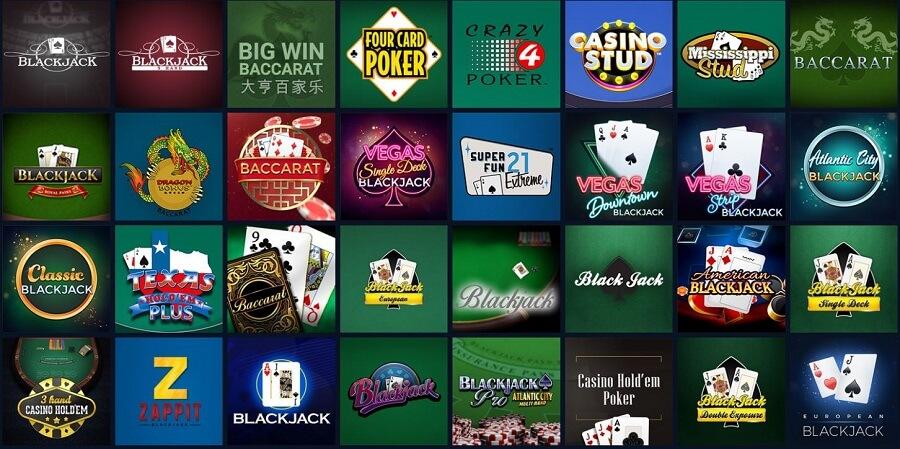 Novibet Casino Card Games