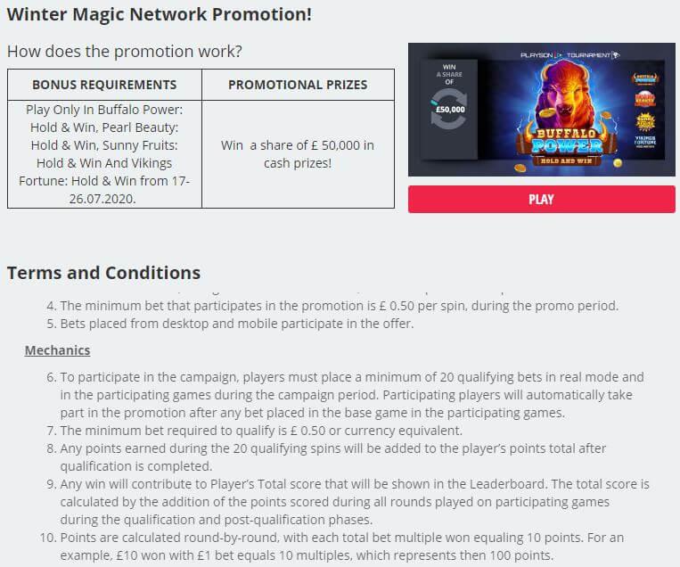 Novibet Casino Promotions 2