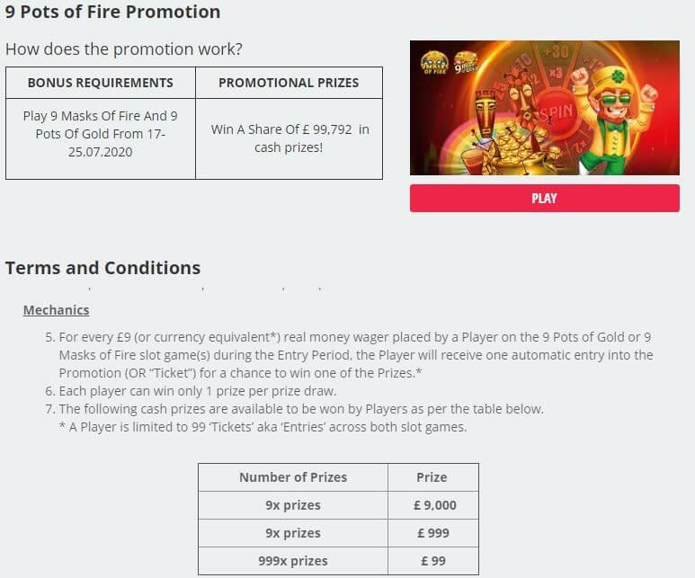 Novibet Casino Promotions 3