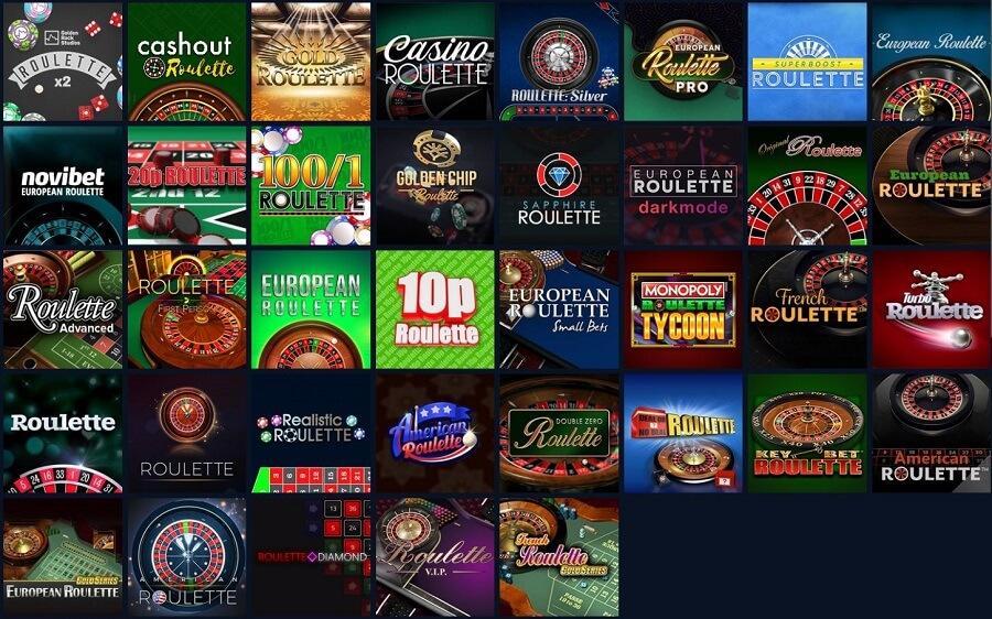 Novibet Casino Roulette