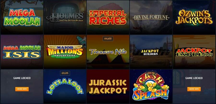 STS Casino Jackpots